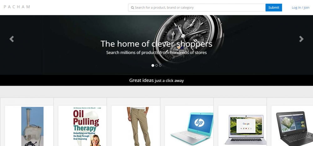 Pacham Homepage